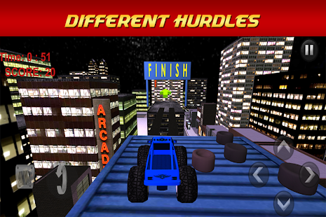 Monster Truck Racing Stunts 3D - screenshot