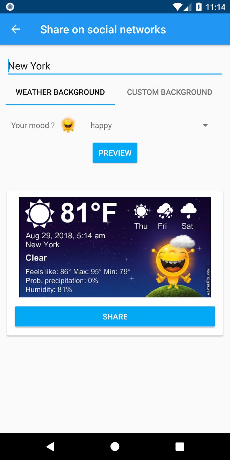 Weather XL PRO Screenshot 6