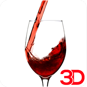 Red Wine 3D Video