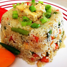 Vegetable Fried Rice With Tofu