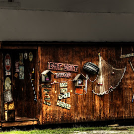 Cajun bait shop by Ron Olivier - Digital Art Places ( cajun bait shop )