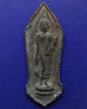 7.พระลีลา 25 พุทธศตวรรษ เนื้อชิน พ.ศ. 2500 พระดีพิธีใหญ่