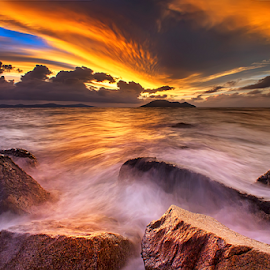 Sunset angle II by Dany Fachry - Landscapes Beaches