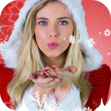 Merry Christmas Photo Stickers
