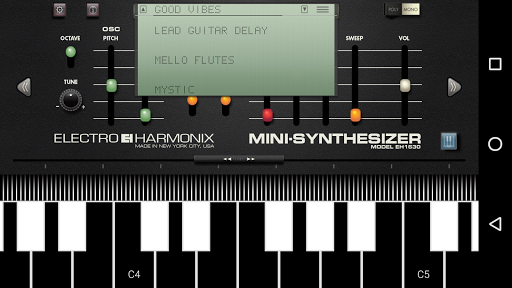 Mini Synthesizer for Phone For PC