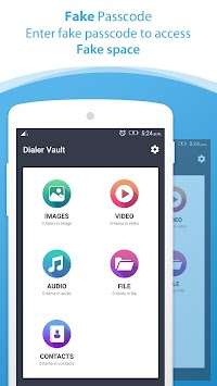 Dialer Vault I Hide Photo Video App OS 11 Phone 8 APK screenshot thumbnail 6