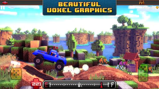 Blocky Roads - screenshot