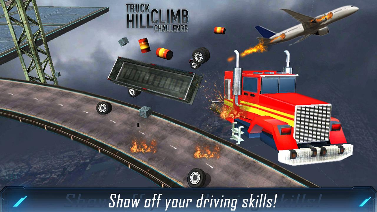 Hill Climb Truck Challenge Screenshot 1