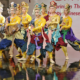 Dancers by Koh Chip Whye - People Musicians & Entertainers