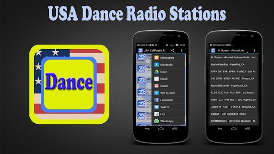 USA Dance Radio Stations - screenshot