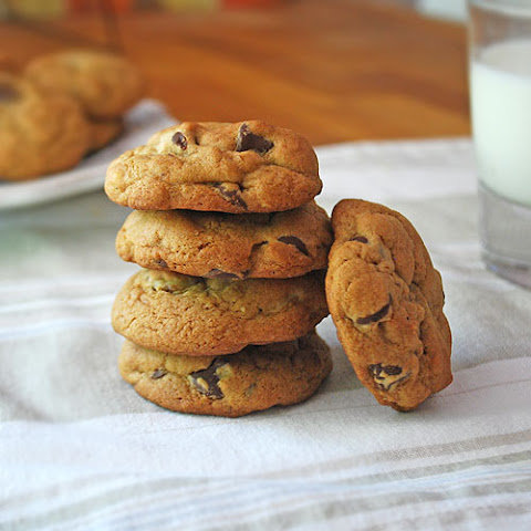 Perfectly Chewy Chocolate Chip Cookies