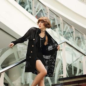 Ash Bharlly by Reza Njaa - People Fashion ( fashion, model, indonesia )