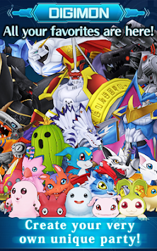 DigimonLinks apk screenshot