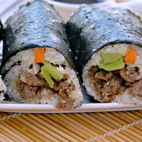 Cauliflower Rice Sushi Rolls