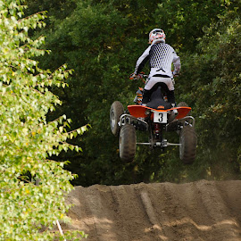 Jump! by Gerd Moors - Sports & Fitness Motorsports ( quad, action, mx, motorsport, jump )