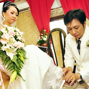 Do Anything for Love by Dwi Cipta - Wedding Getting Ready ( shoes, wedding, couple, maried, people )