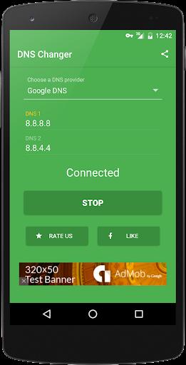 DNS Changer (no root 3G/WiFi) screenshot 3