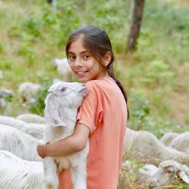 LOVE AND COMPASSION by Kanwar Rajneesh Singh - Babies & Children Children Candids