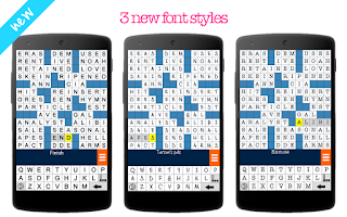 Screenshot of Crossword Puzzle Free
