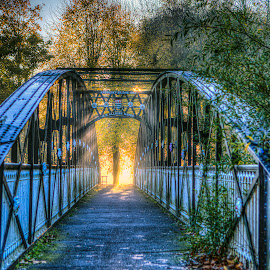 Light at the end of the tunnel by Andrew Richards - Buildings & Architecture Bridges & Suspended Structures