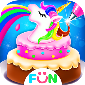 Unicorn Food-Children Rainbow Cake Bakery For PC / Windows 7/8/10 / Mac – Free Download