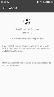 Live Football Scores EURO 2016 - screenshot