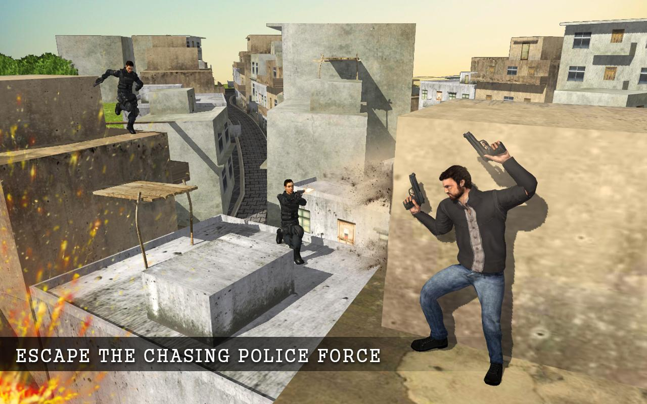 Mad City Rooftop Police Squad Screenshot 9