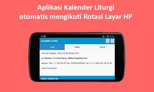 app kalender liturgi apk for windows phone android games and apps. Black Bedroom Furniture Sets. Home Design Ideas