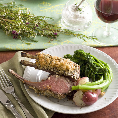 Mustard-Crusted Lamb