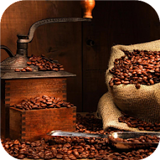 Coffee beans. Live wallpapers