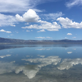 Cloud reflections by Mary Malinconico - Instagram & Mobile iPhone ( clouds, reflections )