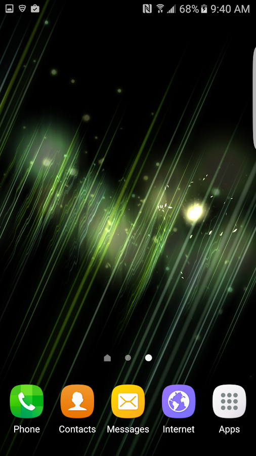 3D Abstract Parallax  LWP Screenshot