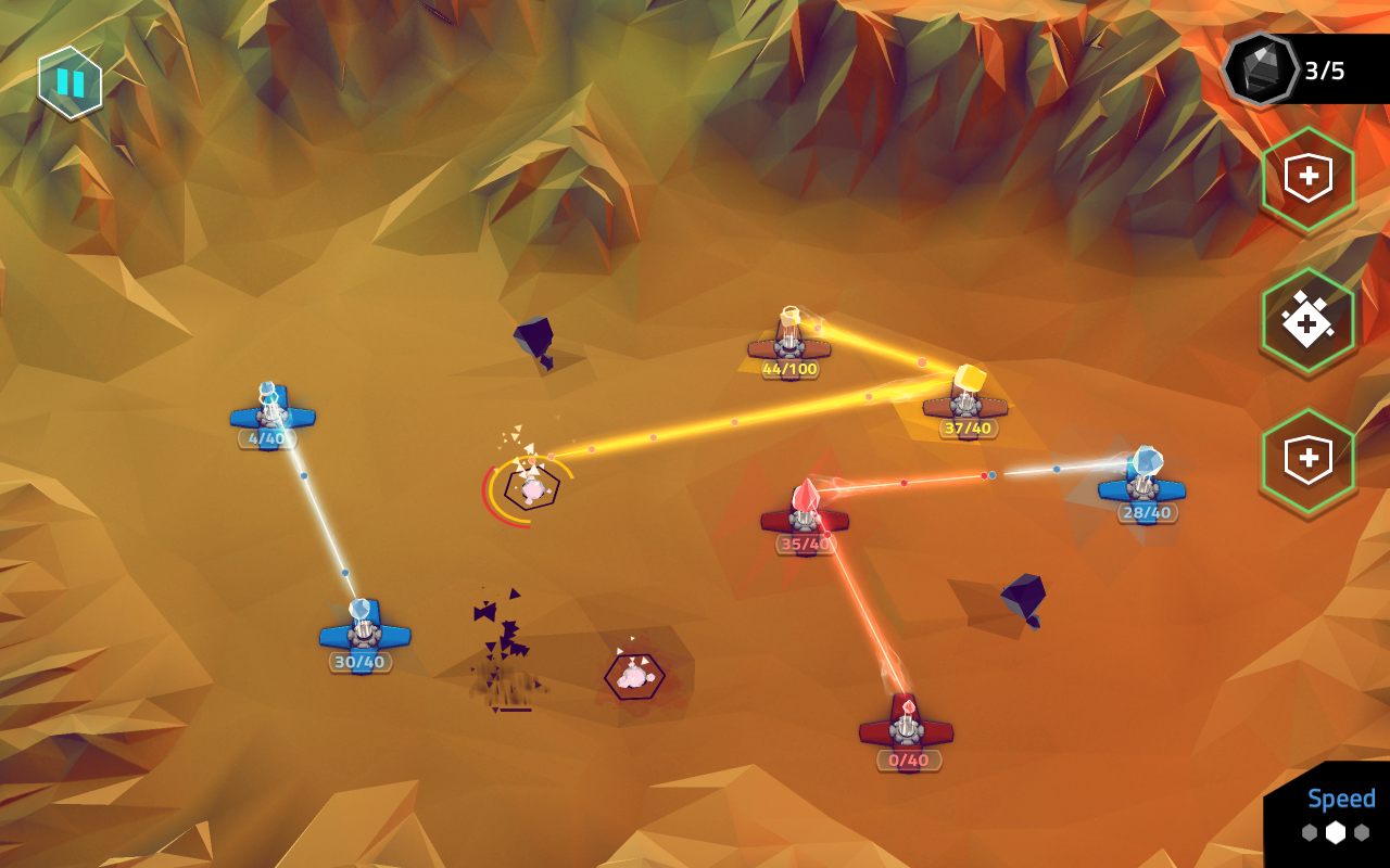 NeoWars tactic domination RTS Screenshot 3
