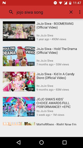 All Songs Jojo Siwa For PC