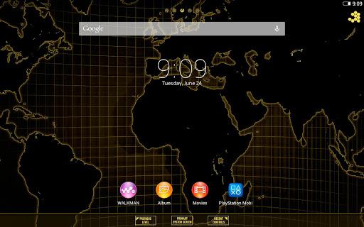 XPERIA Techworld Theme - screenshot