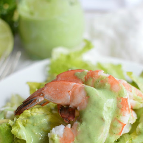 Shrimp Salad - Chimichurri Dressing