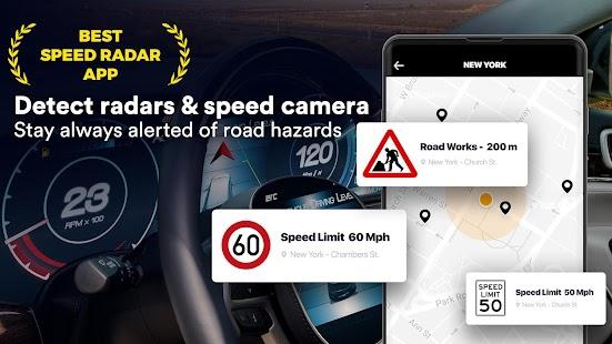 Radar: Speed Camera, HUD Speedometer, Radar Detect for pc