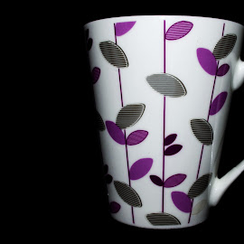 Mug by Nitish Saini - Artistic Objects Cups, Plates & Utensils ( mug, coffee, drink, white, artistic, artistic objects, design, flower )
