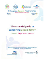 Guide to all GP surgeries in Hillingdon, to have ability to recognise carers