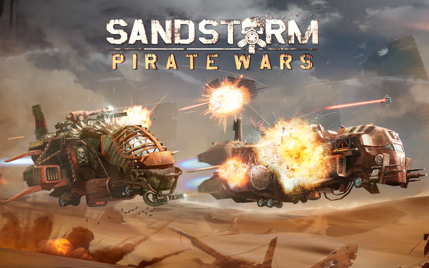 Sandstorm: Pirate Wars Screenshot 7