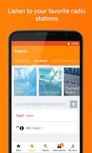 App Podcast & Radio iVoox APK for Windows Phone