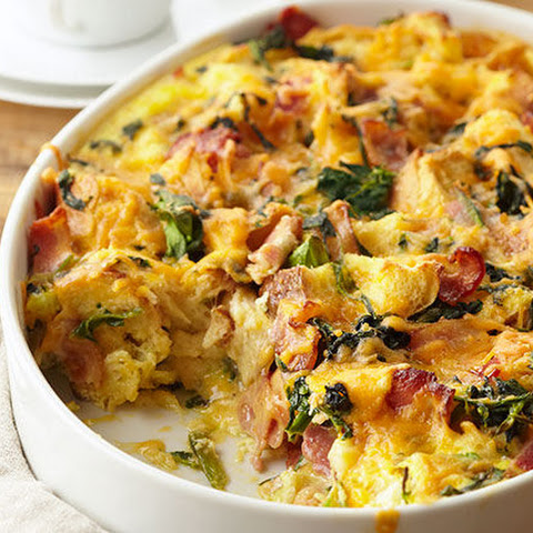 Make-Ahead Egg Bake