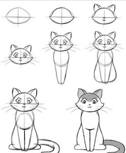 how to draw a phone step by step easy