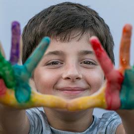 Handpainting by Rodney Rodriguez - Babies & Children Children Candids (  )