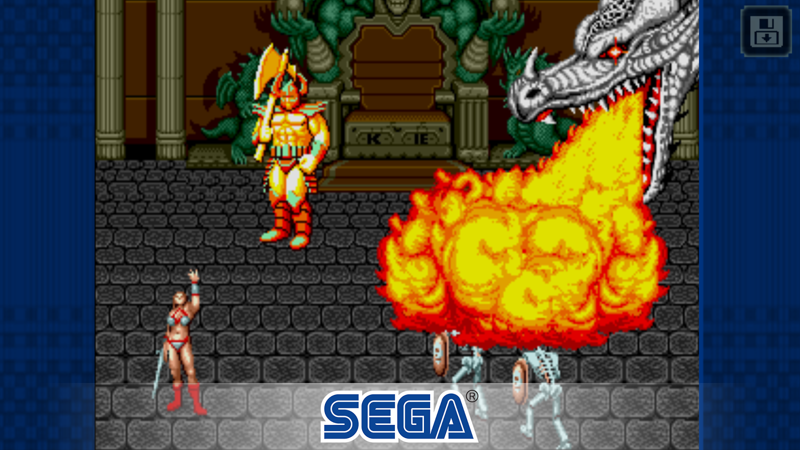 Golden Axe Classic Screenshot 1