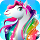 Rainbow Horse Caring ???? Pony Dress Up Beauty Salon APK
