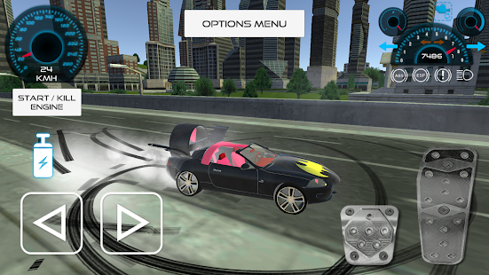 Game Batmobile Dark Driver 2017 APK for Kindle