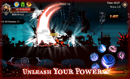 Shadow Fight Heroes - Dark Knight Legends Stickman Screenshot