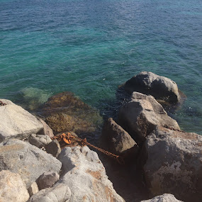 The anchor by Chris Young - Instagram & Mobile iPhone ( water, nature, travel, rocks )