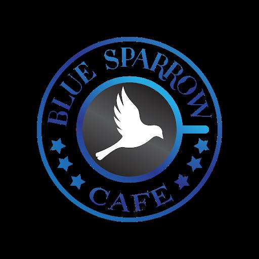 Blue sparrow cafe, Sector 32, Sector 32 logo